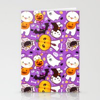 cryaotic Stationery Cards featuring Cryaotic [Halloween] by Velvetcat09