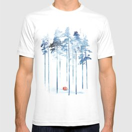 Sleeping in the woods T-shirt