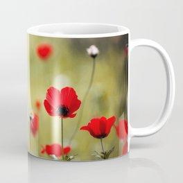 Wild Anemones Coffee Mug