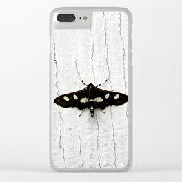 Grape Leaffolder Moth Clear iPhone Case