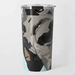 Great Dane In Your Face Travel Mug