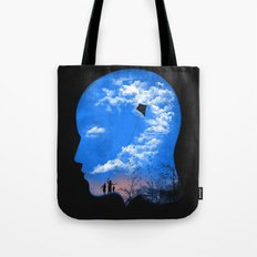 Pulling Out Some Thoughts Tote Bag
