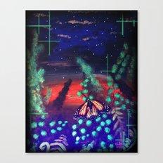 A Monarch Night Canvas Print