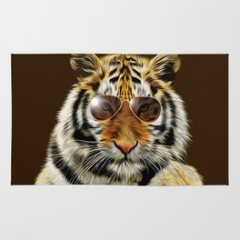 In the Eye of the Tiger Rug