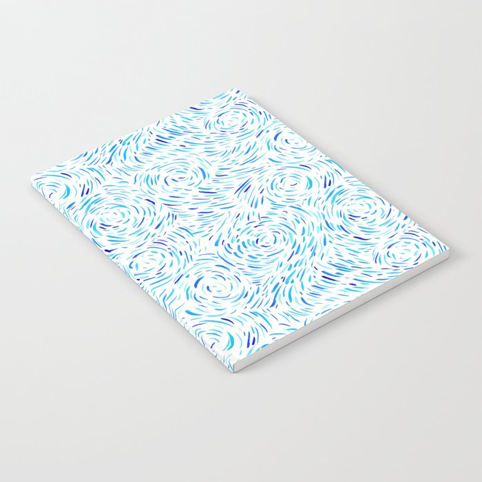 Dashed Waves Notebook