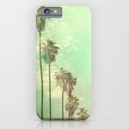 Palm tree photo. Los Angeles. La La Land  iPhone Case