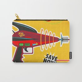 Ray Gun Retro Advertisement Print Carry-All Pouch