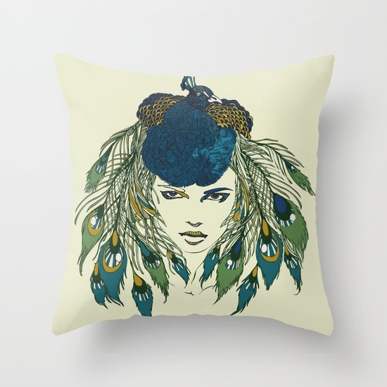 Let it be beautiful Throw Pillow