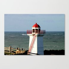 Lady Bay Lower Lighthouse  Canvas Print