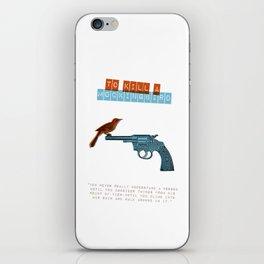 To Kill a mocking bird iPhone Skin