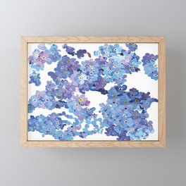 Forget Me Knots Floral Design-Style 3-by Hxlxynxchxle Framed Mini Art Print