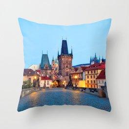 PRAGUE 01 Throw Pillow