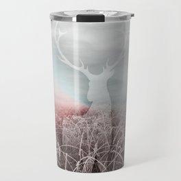 Frozen grass Travel Mug