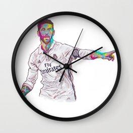 Real Madrid Sergio Ramos Wall Clock