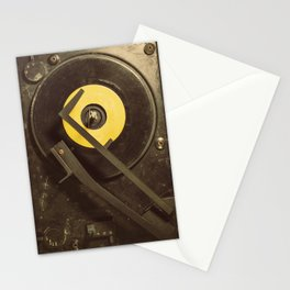 Vintage Tunes Stationery Cards