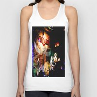 concert Tank Tops featuring Concert at Witzend, Venice by Kim Ramage