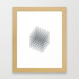 #512 2^9 – Geometry Daily Framed Art Print