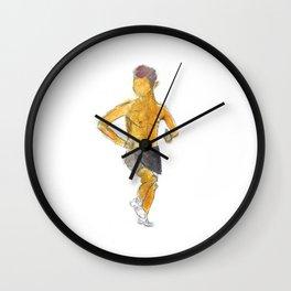 Summer Runner: Apollo the Sun God Wall Clock
