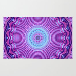Mandala Find your inner being Rug