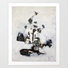 Move Through Faceted Megalopolis  Art Print