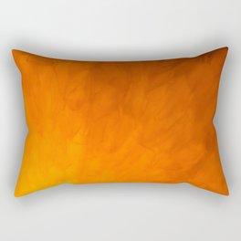 Anatomical orange Rectangular Pillow