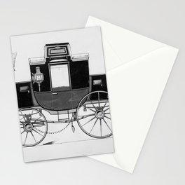Vintage Horse Carriage Illustration (1877) Stationery Cards