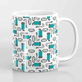 Gear Up - Green Coffee Mug