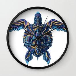 Sea Turtle (Color Version) Wall Clock