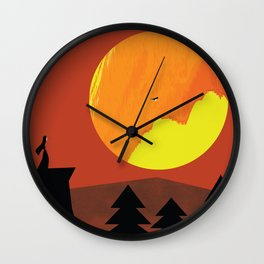 Good Bye Wall Clock
