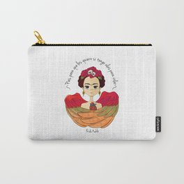 Frida Kahlo (spanish) Carry-All Pouch