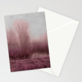 Fog country in my dreams Stationery Cards