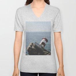 The Fallen Lighthouse Unisex V-Neck