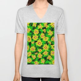 Colorful Matisse. Colorful roses. Colourful roses images. Colourpop. Flowers. Unisex V-Neck