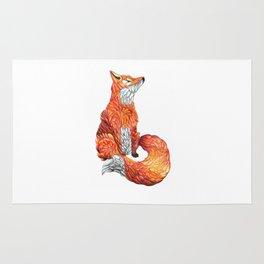 Feather Fox Rug