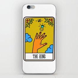 THE RING #Tarot Card iPhone Skin