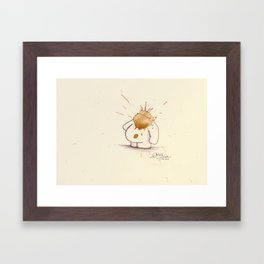 #coffeemonsters 468 Framed Art Print