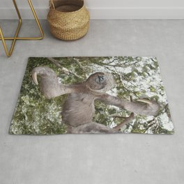 Sloth, A Real Tree Hugger Rug