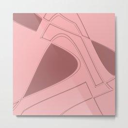 Amazing Pink Metal Print