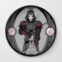 bender Wall Clocks featuring The Last Bender by SBTee's