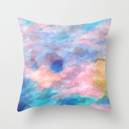 The Elated Omission Throw Pillow