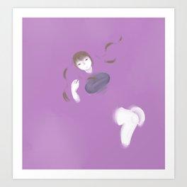 Grape Soup Art Print