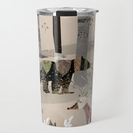 Forest in Sweater Travel Mug