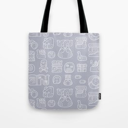 Picto-glyphs Story Tote Bag