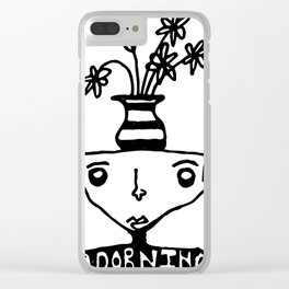 Adorning Clear iPhone Case