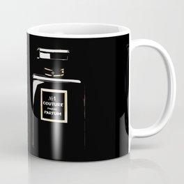 Black Parfum on black Coffee Mug