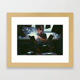 Self Development Framed Art Print