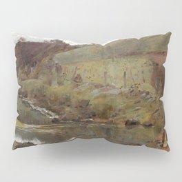 Tom Roberts - A quiet Day on Darebin Creek - Australian Oil Painting Pillow Sham