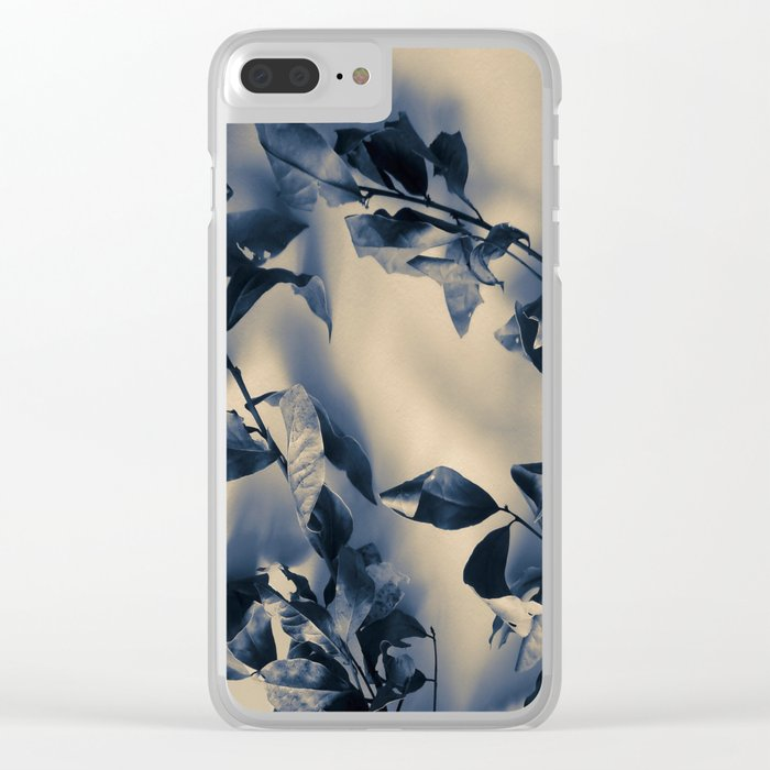 Bay leaves Clear iPhone Case