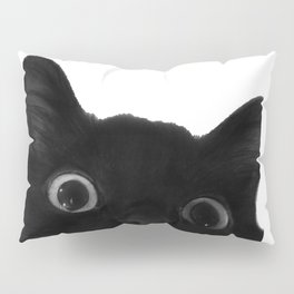 Here's lookin' at mew Pillow Sham