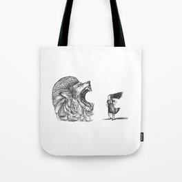 Be Louder Than Your Lions Tote Bag
